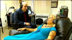 Marc Carlin working with The Virtual Gastric Band client